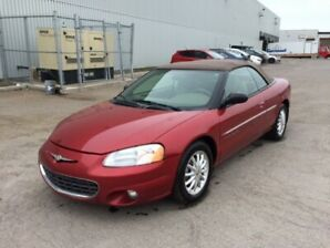 Chrysler Sebring LXI. 2001.décapotable