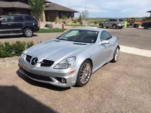 2007 Mercedes-Benz SLK-Class AMG Coupe Convertible Low Kms
