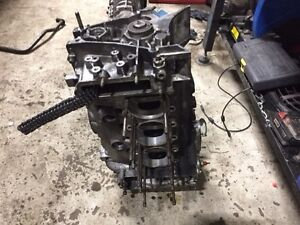 porsche 3.0 engine case and crank