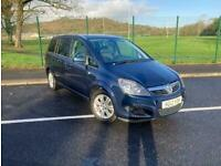 2012 Vauxhall Zafira DESIGN MPV Petrol Manual