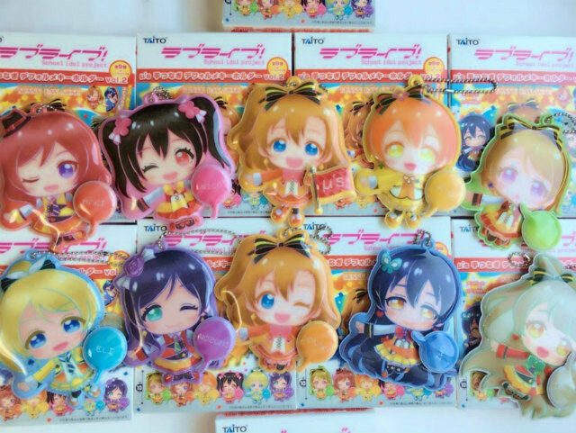 Love Live! Soft Mascot with Ball Chain Ver.SUNNY DAY SONG Maki,Nozomi Kotori...