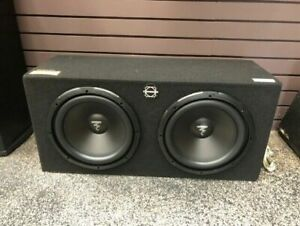 """Focal 2x12"""" Subs in Bassworks box"""
