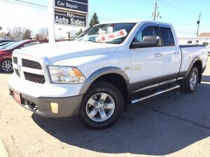 2013 Ram 1500 Outdoorsman 4X4 CLEAN TRUCK!! FOR ONLY $28 995!!