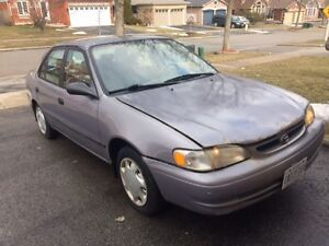 1998 Toyota Corolla (E+Safety passed)