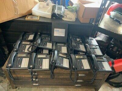 Esi-100 Phone System W E2-684card E2-612 Card 16 48 Key H Dfp Phones Working