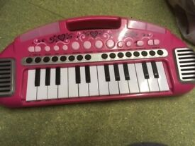 Carry along keyboard - pink - from Early Learning Centre