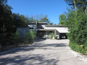 Beautiful Contemporary Home on a Private lot IN BAYFIELD