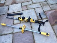 Powerful hedge trimmer
