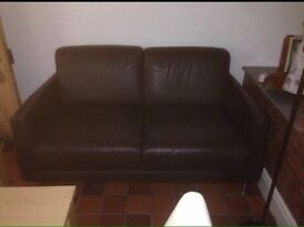 """Leather 2 seater sofa from """"Next"""""""