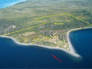 Oceanfront acreage building sites