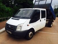 Ford Transit Tipper Double Cab Cheapest Around Spot On