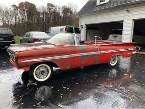 Wanted- 1955-1964 Chevy Convertible Project