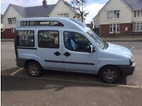 Fiat Doblo 1.3 MultiJet 3 seater disabled car van with ramp OPEN TO OFFERS