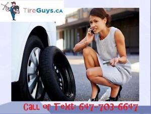 Got a flat tire? Mobile tire repair $80