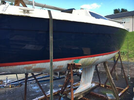 "25ft Yacht, 5 Berth Caravela ""Halcyon"" Boat"