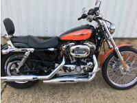 2009 Harley-Davidson XL 1200 C CUSTOM SPORT..two owners...low miles