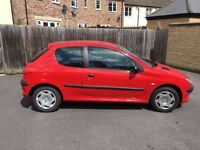 Peugeot 206 Style, 3 door hatchback - FOR SALE