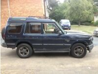 LAND ROVER DISCOVERY FOR SPARES OR OFF ROAD