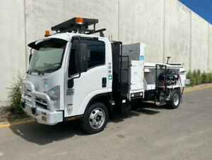 2008 Isuzu NPR300 Flocon Truck  Ex Council Unit  237,183 kms  Aircond  Airbag Dual,  P/Steer P/Wind Bell Park Geelong City Preview