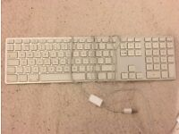 Wired Apple Keyboard - one of the better ones.
