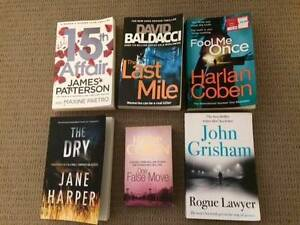 Selection of thrillers and bestsellers Cottesloe Cottesloe Area Preview