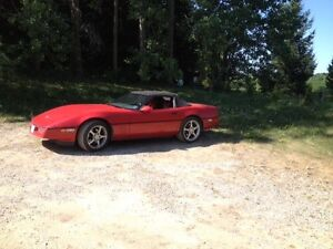 1989 little red corvette !