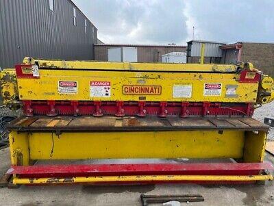 120 - 10 Gauge Mechanical Cincinnati 1010 Metal Shear