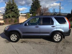 2002 Honda CR-V SUV excellent shape