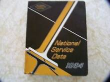 National Service Data Manual Moggill Brisbane North West Preview