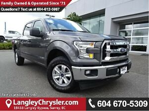 2017 Ford F-150 XLT ACCIDENT FREE w/ 4X4, BLUETOOTH & 5.0L V8