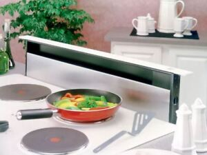 BEHIND COOKTOP RETRACTABLE DOWNDRAFT SYSTEM
