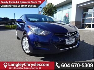 2013 Hyundai Elantra GLS W/ HEATED SEATS & AIR CONDITIONING