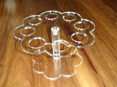 Classikool Ice Cream Cone Acrylic Holder Cake Stand for 8 Cones