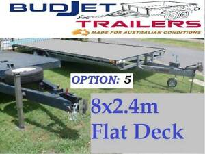 TRAILER HIRE BRISBANE 3.5T 8M FLAT DECK TRAILER $90 P/D THIS AD IS FOR