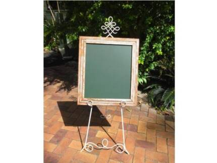 Decorative Shop Easel with Chalkboard