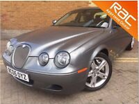 JAGUAR S-TYPE V8 R AUTO IMMACULATE CONDITION 86000 MILES SERVICE HISTORY LONG MOT (2005)