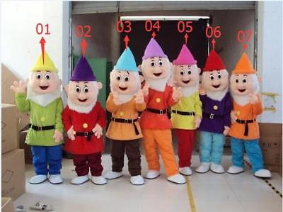 Halloween Mascot Costume Snow White And The Seven Dwarf Party Fancy Dress 2018](Halloween Dwarf Costume)