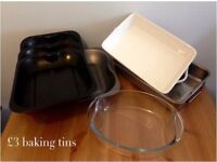 Pots, pan and other kitchen essentials