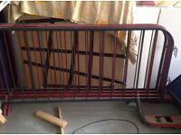 4 x Metal Barriers - Powder Coated