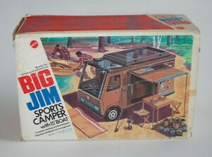 Big Jim Sports Camper Rv In Box complete with accesories