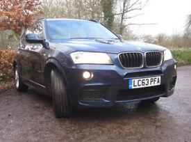 BMW X3 2.0 20d M Sport xDrive 5dr Auto Diesel