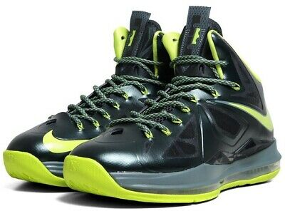 8bebb0e73724 USED Nike Lebron 10 Dunkman GS 5Y Max Trey Air What The Soldier Hyperdunk  Force