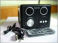 CUBIK = Boîte de SON Multi-Prises pour LAPTOP MP3 SD USB YYYY