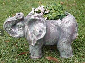 Elephant Garden Pot Holder Cleveland Redland Area Preview