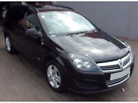 ONLY £152.06 PER MONTH BLACK 2010 VAUXHALL ASTRA 1.9 CDTI SPORTIVE DIESEL MANUAL