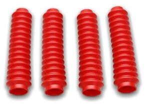 Colored-Shock-Boots-Boot-Covers-Set-of-4-RED