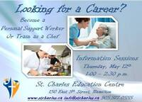 PSW and Chef Training Information Sessions