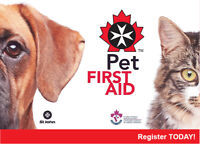 Pet First Aid - January 7 in Charlottetown area
