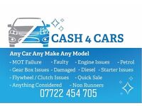 Wanted Audi Bmw Mercedes Ford Vauxhall Volkswagen Mot Failure Faulty Working - Non Working