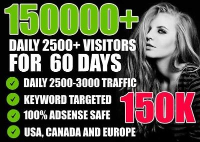 I Will Drive Unlimited Super Targeted Traffic For 60 Days 2 Day Delivery.